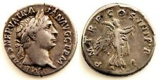 Roma-Trajano. Denario. 101-102 d.C. Roma. MBC+/VF+ plata 3,3 g. Muy bonita