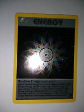 Rainbow energy Holo Pokemon card team rocket set  17/82