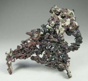 CUPRITE crystals on Copper * Yavapai County * Arizona