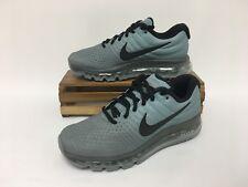 Nike Air Max 2017 Running Shoes Gray Black 849559-003 Men's Size 9 NWOB