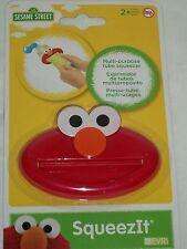 Seasame Street Elmo Tube Squeezer SqueezIt Toothpaste Lotion Gel Creame Diaper