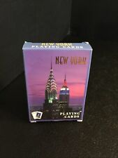 B4) New York City Playing Cards 2008