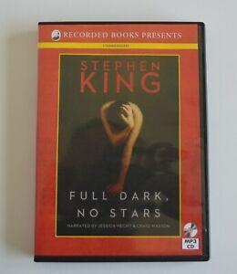 Full Dark, No Stars - Stephen King - Unabridged Audio Book - MP3CD