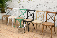Pre order Cross Back Dining Chairs French Provincial Oak Timber