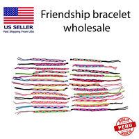 friendship bracelets wholesale lot handmade jewelry Peruvian bracelet pack 50 z