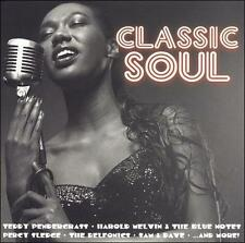 FREE US SHIP. on ANY 2 CDs! NEW CD Various Artists: Classic Soul: Greatest Hits