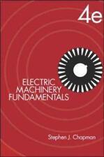 Electric Machinery Fundamentals Hardcover Stephen J. Chapman