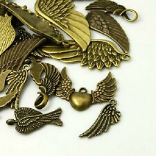 30g x style tibétain bronze charms / pendentifs ailes ~ ~ ~ mixtes bronze antique