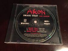 Akon - Smack That ft. Eminem Promo CD Universal Records UNIR 21721-2 Hip-Hop R&B