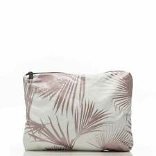 Lemu Small Pouch in Day Palms Rose Gold