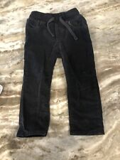 Baby Gap Toddler Boys Gray Corduroy Slim Pants Size 2T