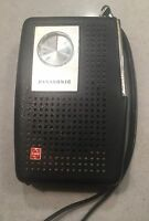 VINTAGE PANASONIC AM TRANSISTOR RADIO MODEL R-1077 7-TRANSISTOR MATSUSHITA JAPAN