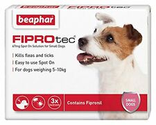 Beaphar FIPROtec Pipette for Small Dog 3 Treatment Pack