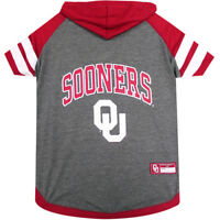 Oklahoma Sooners NCAA Pets First Officially Licensed Dog Pet Hoodie T Shirt XS-L