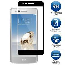 For LG Aristo - FULL COVER Tempered Glass Screen Protector Guard Shield Saver