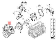 Genuine BMW E46 E60N E81 E82 E83 E83N E84 E85 E87 Water Pump OEM 11517574119