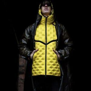 Nike Shield Tech Pack Down-Fill Convertible 2 Piece Rain Coat Jacket Men Size XL