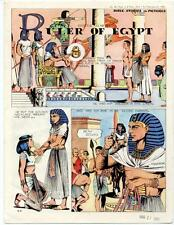 Bible Stories in Pictures #45 Part 1    February 27 1955     Ruler of Egypt