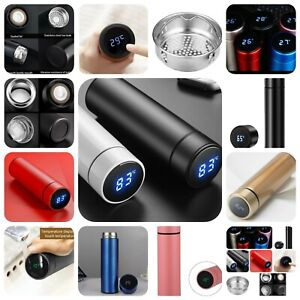 Water Bottle Thermos Vacuum Thermos Capsule Smart Stainless Steel Water Bottle