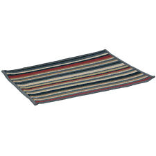 Multi-colour Stripe Design Machine Washable Door Mat Hardwearing Doormat Rug New