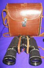 Vintage Russian USSR BPB1 /   БПБ1 12x40 Military Binoculars Leather Case