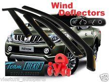 MITSUBISHI  L-200  V gene DOUBLE CAB 4D  2015 - Wind deflectors 4.pc  HEKO 23375