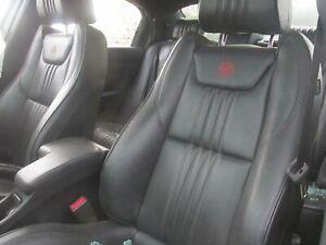 ALFA ROMEO 159 TI SALOON GENUINE ELECTRIC BLACK LEATHER SEATS (INCLUDES REARS)