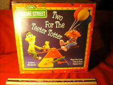 New Enesco Sesame Street Multi-Action See-Saw Music Box