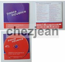 FRANCE INFLUENCE FRENCH ELECTRONICA CD MIDEM compilation