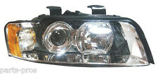 New Replacement Halogen Headlight Assembly RH / FOR 2002-05 AUDI A4 HARD TOP