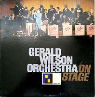 Gerald Wilson Orchestra On Stage Vintage Vinyl Record 1965 LP VG+ PJ-88