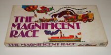 100% Complete~The Magnificent Race~1975 Board Game Amazing Around World Car Race