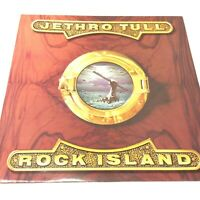 Jethro Tull 'Rock Island' UK 1989 Chrysalis Vinyl LP EX/EX Very Nice Copy!