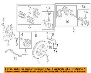 HYUNDAI OEM 10-16 Genesis Coupe Brake-Front-Brake Hose Gasket 587971R000