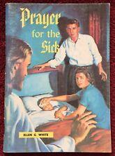 Prayer for the Sick Ellen G White 1937 Review & Herald Vintage PB Booklet 63 Pgs