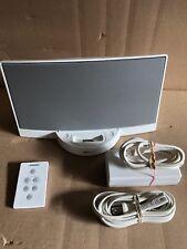 Bose Sounddock Sound Dock Digital Music System White W/ Remote (used) #2