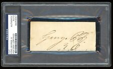 King George IV United Kingdom England (1820-1830) Signed Cut PSA/DNA Autograph