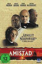 Amistad - Morgan Freeman - Anthony Hopkins # DVD * OVP * NEU