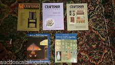 FIVE POST AUCTION CATALOGS /// Craftsman Arts & Crafts Stickley & More