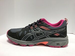 Asics Gel Venture 7 Womens Running Shoe Gray 9.5 Wide