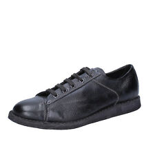 women's shoes MOMA 7 (EU 37) sneakers black leather BT185