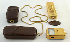MINOX A IIIs Gold Set light exposure meter 8x11 original vintage top NO dents