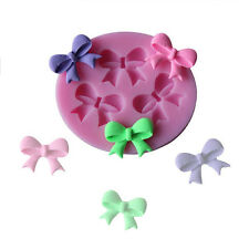 Silicone Candy Cake Mold Butterfly Bow Designed Fondant DIY Cooking Tools