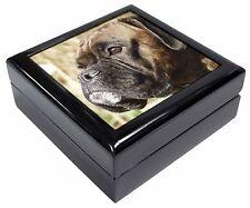 Brindle Boxer Dog Keepsake/Jewellery Box Christmas Gift, AD-B23JB