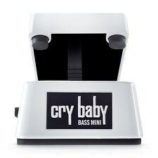 Dunlop CBM105Q Cry Baby Mini Bass Wah Pedal +Picks