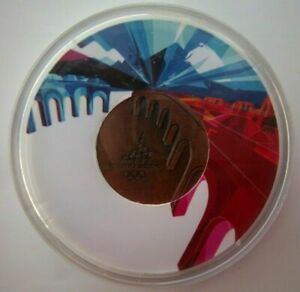 Orig.participant medal   XX.Olympic Winter Games TURIN 2006 / in Box  !!  RARITY