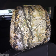 Housse appui-tête siège voiture Lot de 2 véritable Camouflage