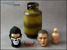 Loading Toys 1/6th Scale Gavin Head Sculpt Set w/Propane Tank, Eye Glasses, Mask