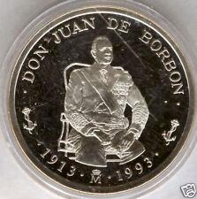Don Juan de Borbon 5 Ecus 1993 plata @@ FDC @@