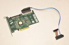 Dell 6/iR PCI-E 8x Raid Controller 0JW063 + 1x GH897 Cable  $30  Warranty!